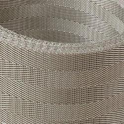 Super Duplex (S32760) Reverse Twill Dutch Weave